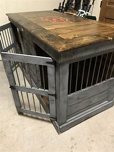 handcrafted dog kennel or dog crate follow us on kennel With custom wood dog kennels