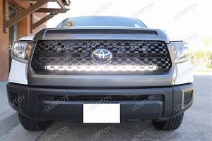 How To Wire Led Light Bar Without Relay 240w 40 Quot Led Light Bar W Grille Mounts Kit For 2014 Up