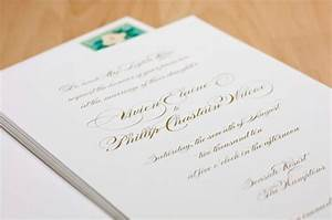 calligraphy script ideas wedding invitations photos by With calligraphy boston wedding invitations
