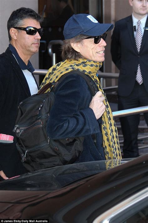 mick jagger pictured    time  australia