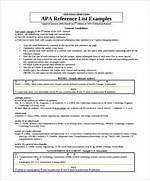 Sample Reference List Template For Resume APA Handout Available For Download CCAC North Library Apa Annotated Bibliography Cover Page APA Formatting Activity Reference List Citations 1