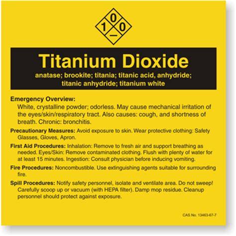 drop  dream facts  titanium dioxide