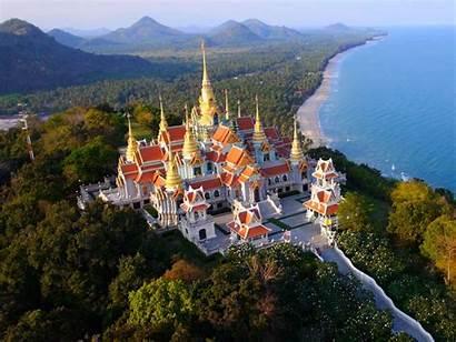Thailand Tourism Temple Buddhist Temples Famous Beach