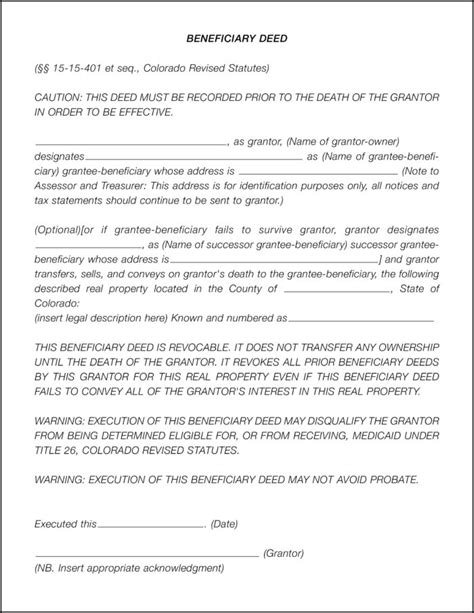 Trust Deed Template For Property In Colorado by Contract For Deed Template Minnesota Templates Resume