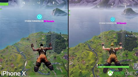 fortnite mobile  iphone   xbox   graphics