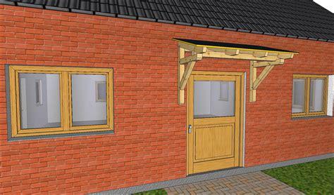 Eine Eingangsüberdachung Als Vordach Selbst Gebaut