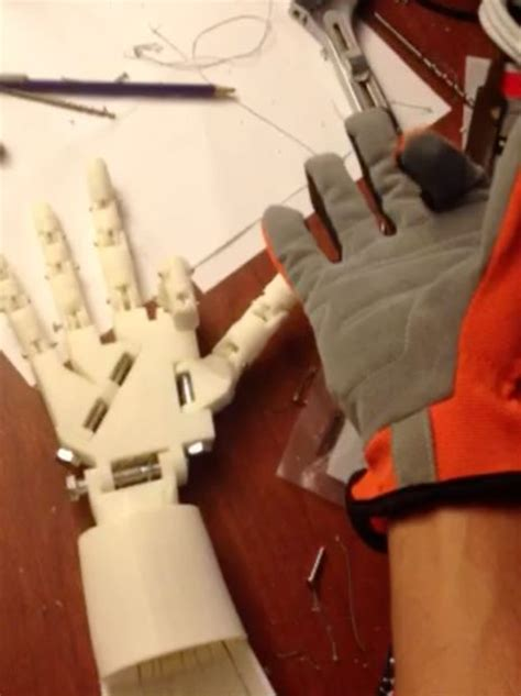diy robotic hand controlled   glove  arduino