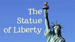The Statue Of Liberty For Kids Famous World Landmarks For