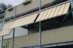 Senkrechtmarkise Für Balkon : fassaden fallarm markisen ideal f r b rogeb ude ~ Frokenaadalensverden.com Haus und Dekorationen