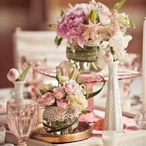 Centre De Table Champetre : d coration mariage champ tre chic decoration de ~ Melissatoandfro.com Idées de Décoration