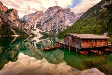 Braies Lake Dolomites Italy Sumfinity Photography By