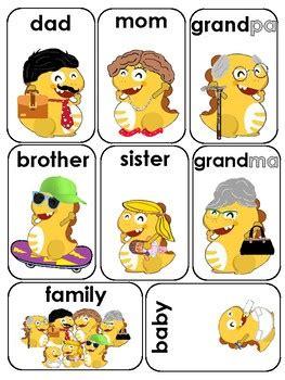 Dino Family Flashcards For Vipkid Teachers By Aileen Teacher Queen