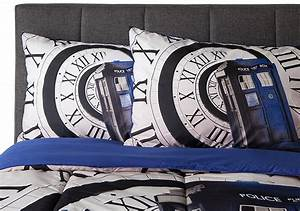 Parure De Lit Doctor Who Cadeau Doctor Who Geek