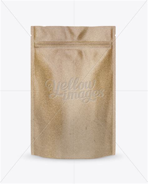 Find & download free graphic resources for pouch packaging mockup. Kraft Paper Stand-up Pouch Mockup - Front View in Pouch ...