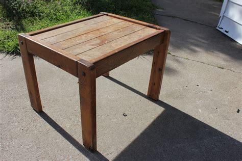 Pdf Diy Diy Wood End Table Download Diy Workbench Plans