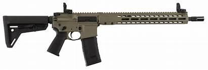 Earth Dark Moe Barrett Flat Blackout Carbine