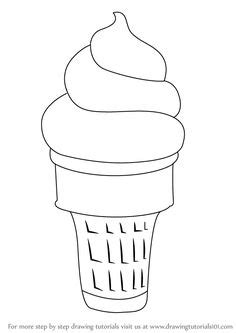 printable coloring sheet instant  ice cream
