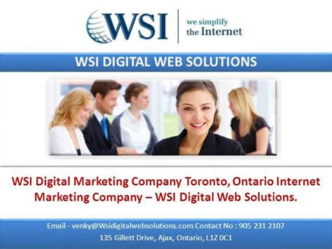 digital marketing toronto wsi digital marketing company toronto ontario internet