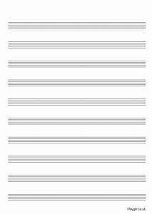 free printable blank sheet music for guitar blank sheet With music manuscript template