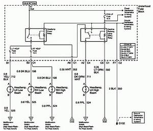 2001 Chevy Blazer Headlight Wiring Diagram