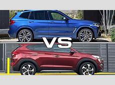 2018 BMW X3 vs 2016 Hyundai Tucson YouTube
