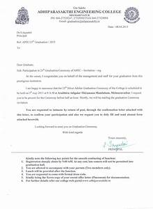 25th graduation ceremony adhiparasakthi engineering college With graduation announcement letter sample