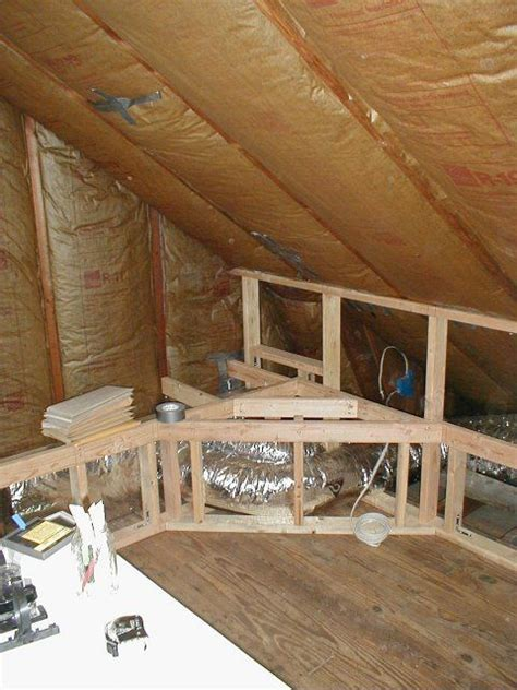attic remodel  covers hiding air ducts attic