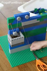 Simple Machines for Kids: LEGO Pulleys STEM Building Challenge