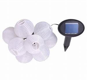 Solar Lichterkette Lampions : solar lichterkette bianca 10 lampions warmwei ~ Whattoseeinmadrid.com Haus und Dekorationen
