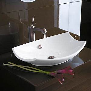 vasque en ceramique reve collection jacob delafon espace With salle de bain design avec vasque a poser en ceramique