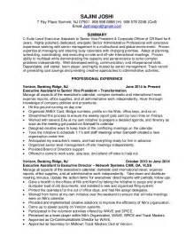 executive assistant resume sle 2015 c suite executive assistant resume november 2015
