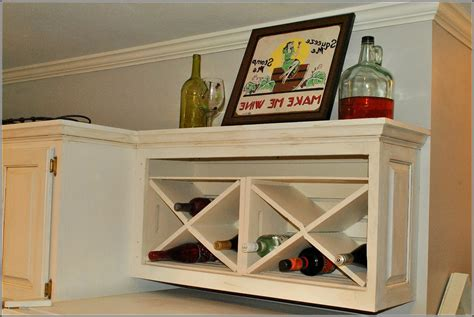 wine rack for inside cabinet how to build a wine rack in a kitchen cabinet home design