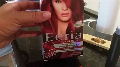 L'orÉal Feria Cherry Crush Medium Auburn Hair Dye Review