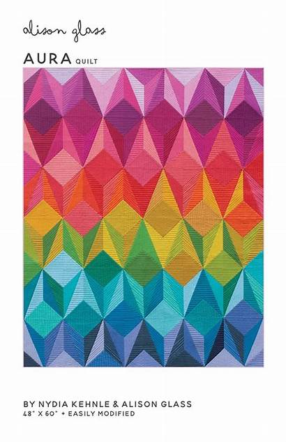 Quilt Alison Glass Aura Pattern Patterns Luminary