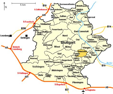 stuttgart on map news tourism world stuttgart metro bahn map