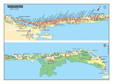 map  cuba varadero holiday map  holidaymapqcom