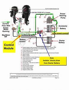 Mercury Verado Power Steering Wiring Diagram