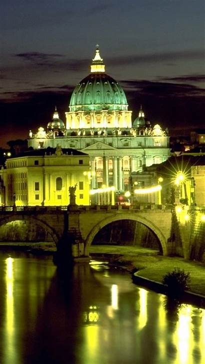 Vatican St Basilica Peters Rome Wallpapers Square