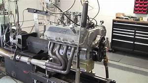 Aluminum Ford 427 Sohc On Dyno