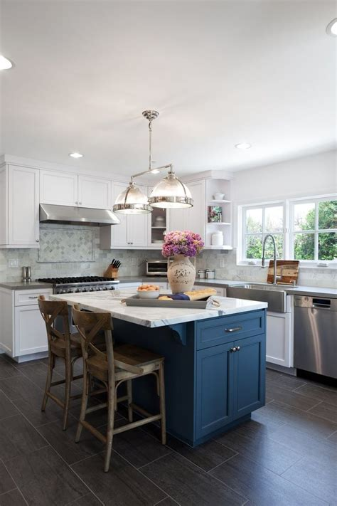 image result  blue island white kitchen cabinets