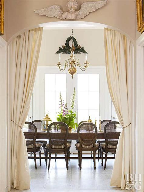 Gorgeous Ideas for Doorway Drapes   Better Homes & Gardens