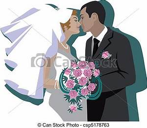 Dessin Couple Mariage Couleur : vecteurs de couple 04 mariage vector wedding couple ~ Melissatoandfro.com Idées de Décoration