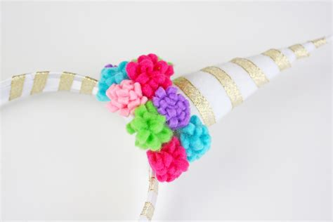 easy unicorn headband craft catch  party
