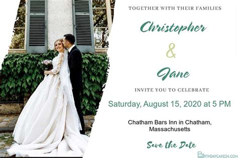 printable wedding invitations cards