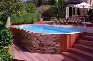 6 idees d39amenagement pour votre piscine hors sol With awesome comment amenager sa piscine 2 avant apras amenager un jardin tout en longueur