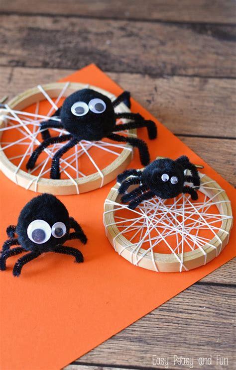 silly spider craft easy peasy  fun