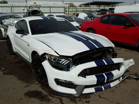 Ford Mustang Shelby Gt350 Already Appears At Salvage Auction
