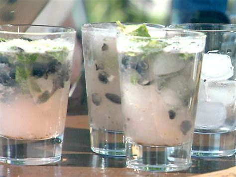 blueberry ginger mojito pitchers recipe blueberry