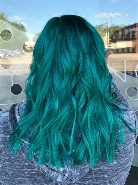 Turquoise Hair Blue Hair Color Light Blue Hair Color