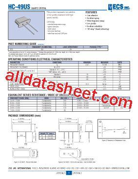 hc  datasheetpdf list  unclassifed manufacturers
